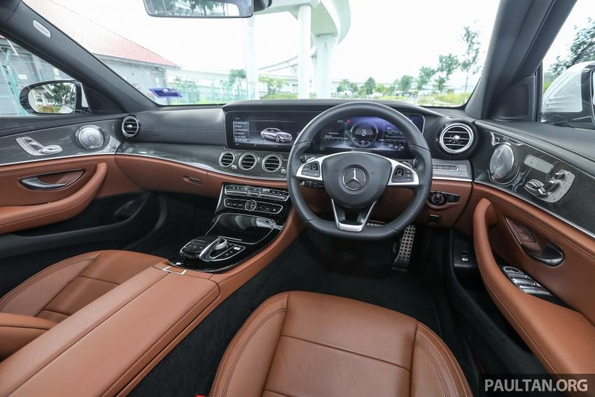 Mercedes-Benz E 350e dilancarkan untuk Malaysia – plug-in hybrid, tiga varian, harga bermula RM392,888 Image #720173