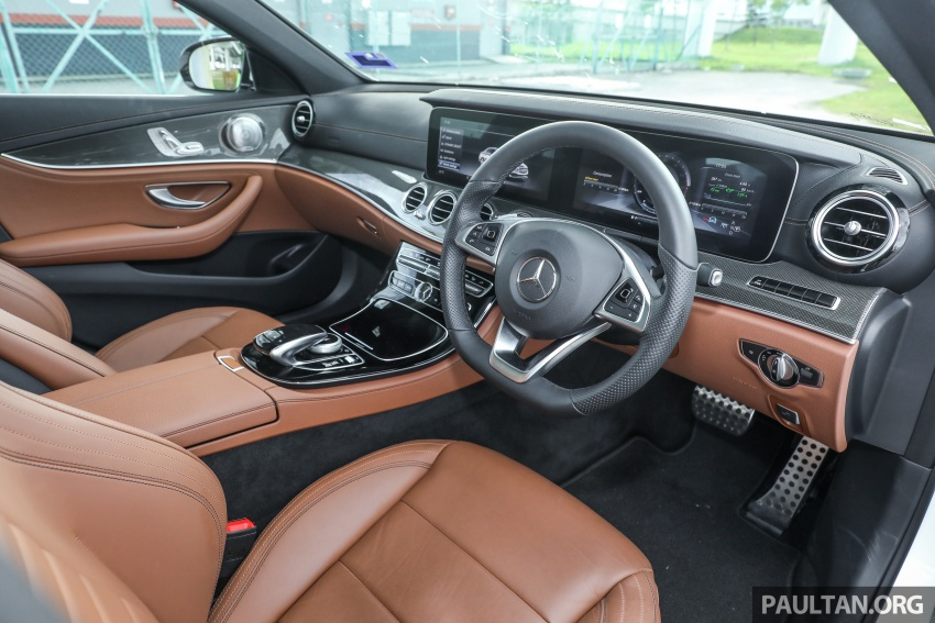 Mercedes-Benz E350e plug-in hybrid launched in M'sia – Exclusive, AMG Line and Edition 60, from RM393k Image #719921