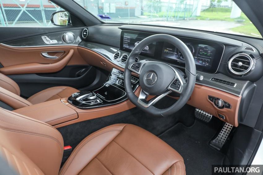 Mercedes-Benz E 350e dilancarkan untuk Malaysia – plug-in hybrid, tiga varian, harga bermula RM392,888 Image #720138