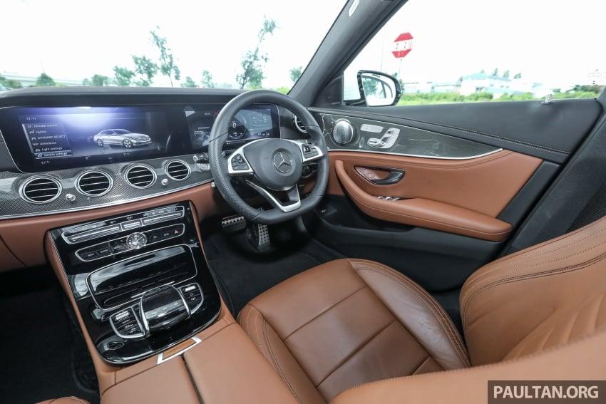 Mercedes-Benz E 350e dilancarkan untuk Malaysia – plug-in hybrid, tiga varian, harga bermula RM392,888 Image #720174