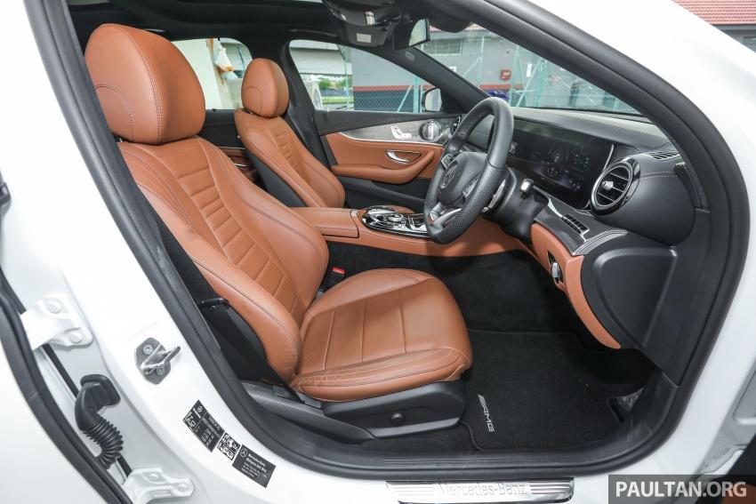 Mercedes-Benz E 350e dilancarkan untuk Malaysia – plug-in hybrid, tiga varian, harga bermula RM392,888 Image #720176