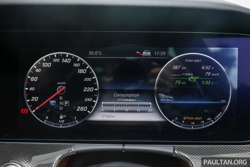 Mercedes-Benz E 350e dilancarkan untuk Malaysia – plug-in hybrid, tiga varian, harga bermula RM392,888 Image #720141