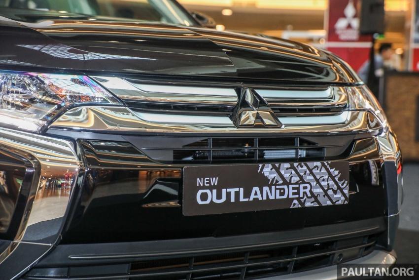 GALERI: Mitsubishi Outlander 2.0L 4WD CKD dipertontonkan di Mid Valley – perincian didedahkah Image #717916