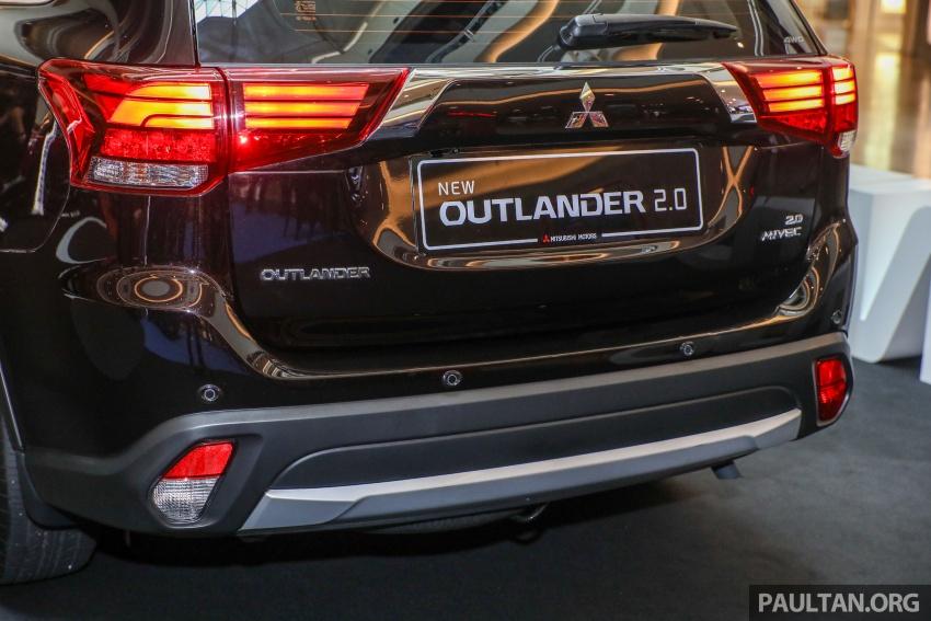 GALERI: Mitsubishi Outlander 2.0L 4WD CKD dipertontonkan di Mid Valley – perincian didedahkah Image #717911