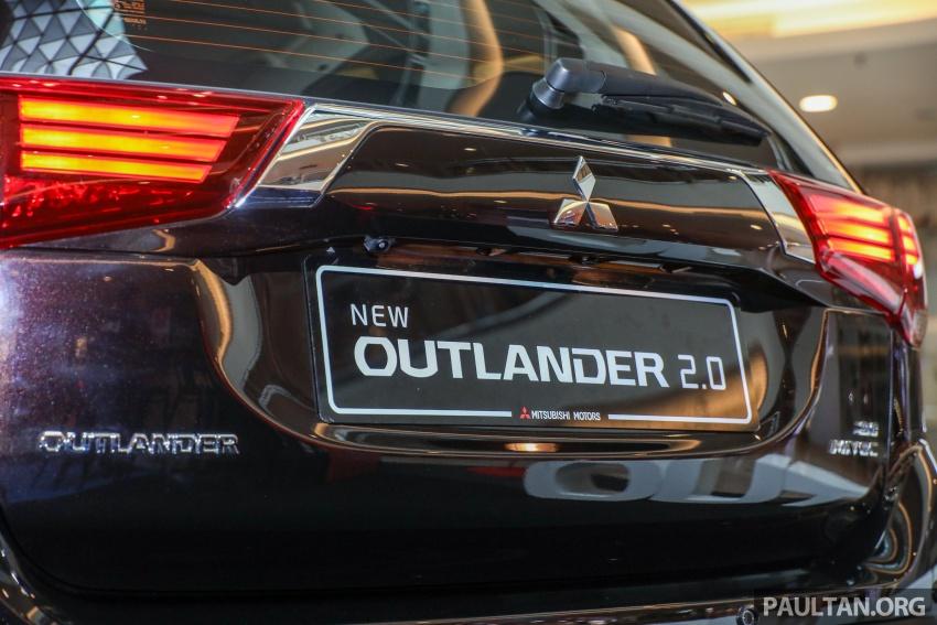 GALERI: Mitsubishi Outlander 2.0L 4WD CKD dipertontonkan di Mid Valley – perincian didedahkah Image #717908