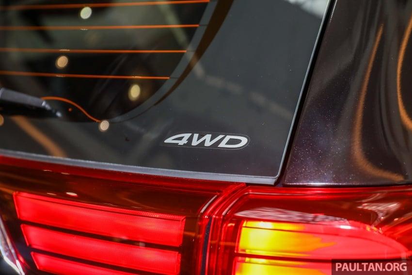 GALERI: Mitsubishi Outlander 2.0L 4WD CKD dipertontonkan di Mid Valley – perincian didedahkah Image #717903