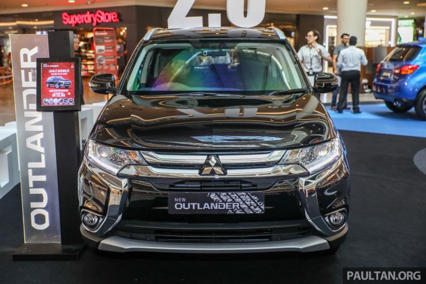 GALERI: Mitsubishi Outlander 2.0L 4WD CKD dipertontonkan di Mid Valley – perincian didedahkah Image #717918