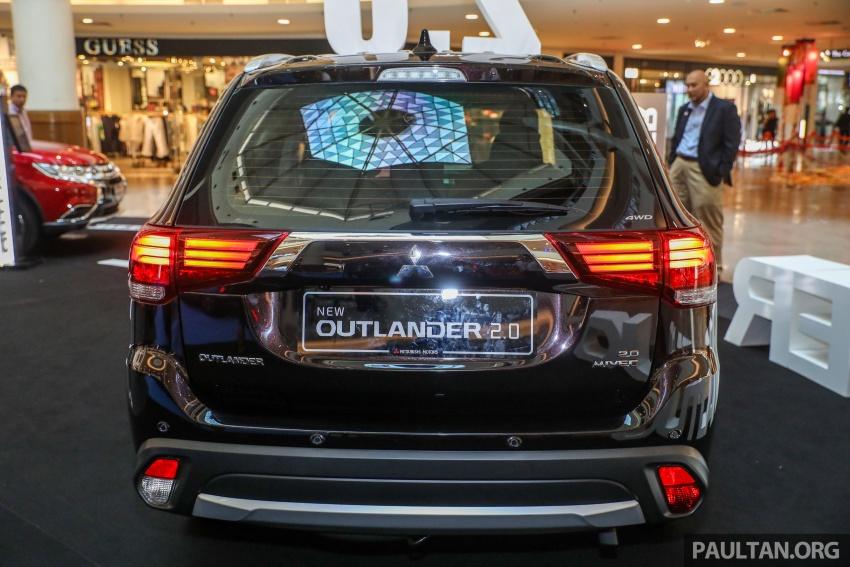 GALERI: Mitsubishi Outlander 2.0L 4WD CKD dipertontonkan di Mid Valley – perincian didedahkah Image #717915