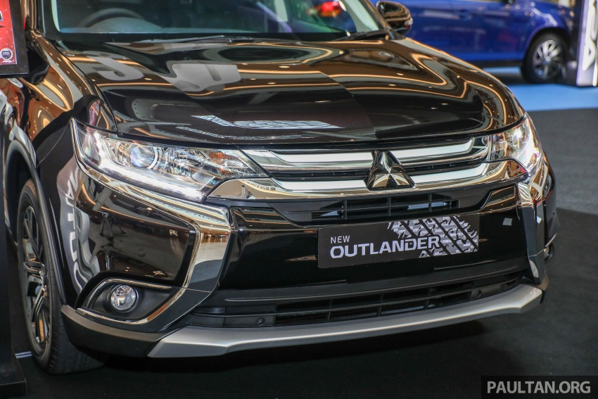 GALERI: Mitsubishi Outlander 2.0L 4WD CKD dipertontonkan di Mid Valley – perincian didedahkah Image #717913