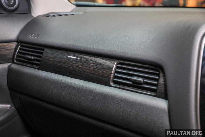 GALERI: Mitsubishi Outlander 2.0L 4WD CKD dipertontonkan di Mid Valley – perincian didedahkah Image #717940