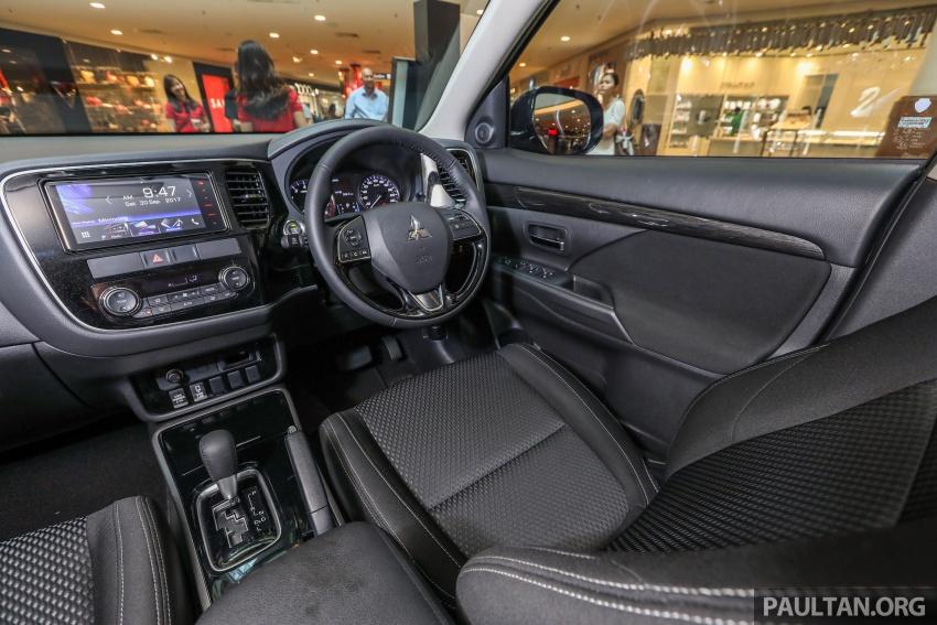 GALERI: Mitsubishi Outlander 2.0L 4WD CKD dipertontonkan di Mid Valley – perincian didedahkah Image #717939