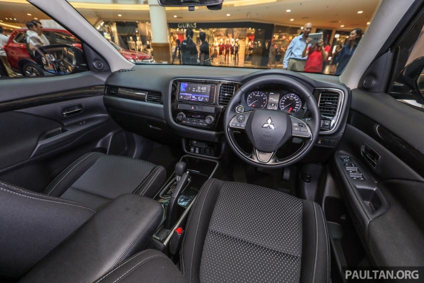 GALERI: Mitsubishi Outlander 2.0L 4WD CKD dipertontonkan di Mid Valley – perincian didedahkah Image #717944