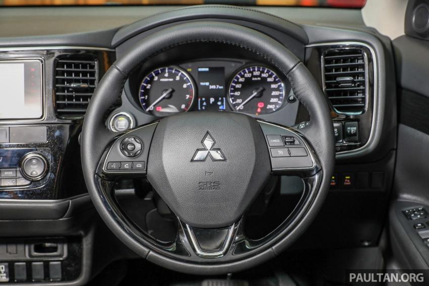 GALERI: Mitsubishi Outlander 2.0L 4WD CKD dipertontonkan di Mid Valley – perincian didedahkah Image #717968