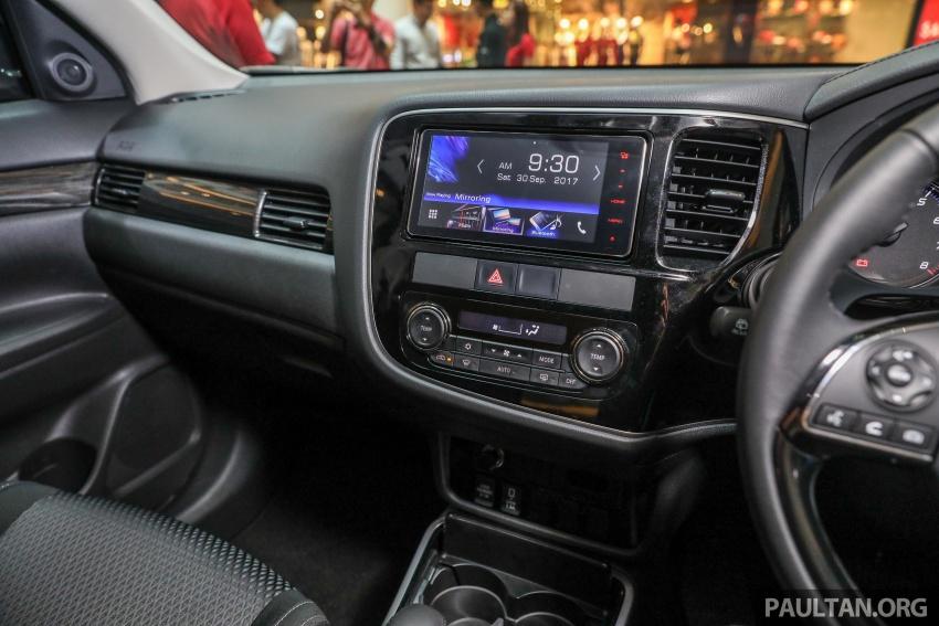 GALERI: Mitsubishi Outlander 2.0L 4WD CKD dipertontonkan di Mid Valley – perincian didedahkah Image #717949