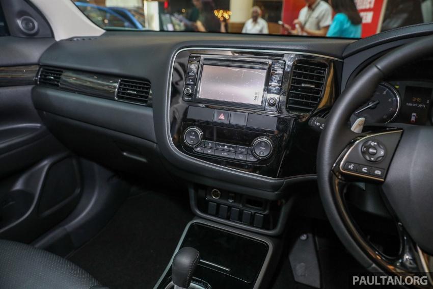 GALERI: Mitsubishi Outlander 2.0L 4WD CKD dipertontonkan di Mid Valley – perincian didedahkah Image #717604
