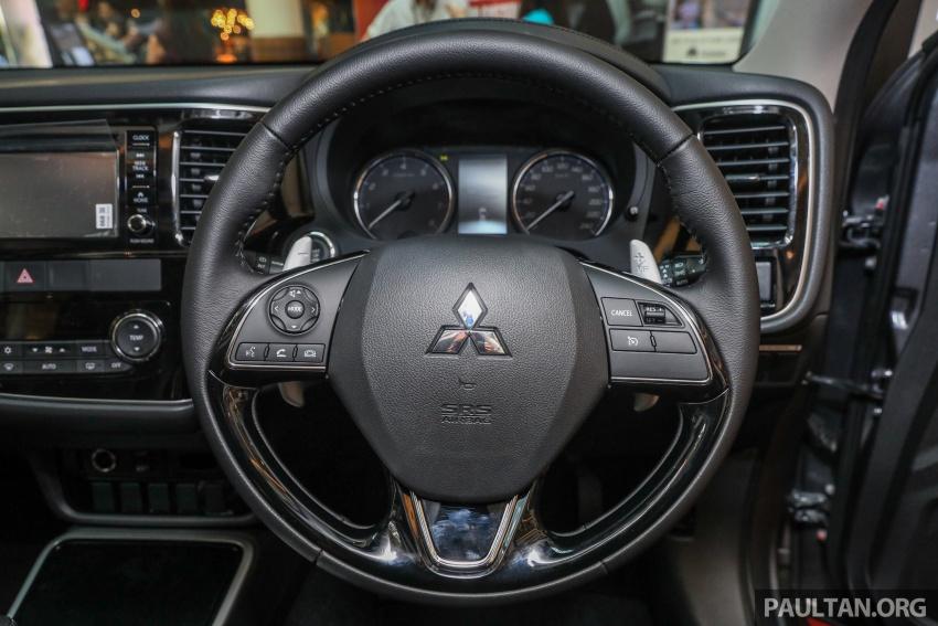 GALERI: Mitsubishi Outlander 2.0L 4WD CKD dipertontonkan di Mid Valley – perincian didedahkah Image #717599