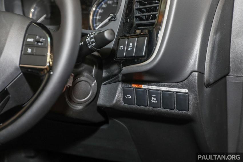 GALERI: Mitsubishi Outlander 2.0L 4WD CKD dipertontonkan di Mid Valley – perincian didedahkah Image #717597
