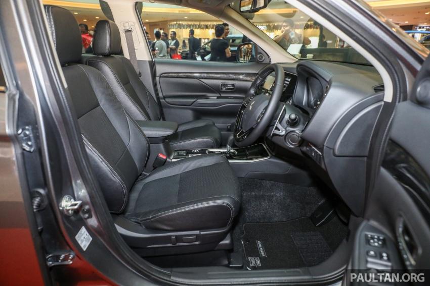 GALERI: Mitsubishi Outlander 2.0L 4WD CKD dipertontonkan di Mid Valley – perincian didedahkah Image #717596