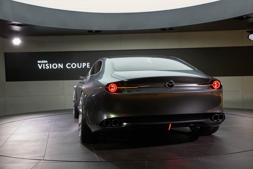 Tokyo 2017: Mazda Vision Coupe – the future of Kodo Image #729335