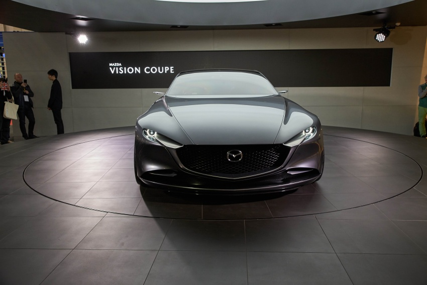 Tokyo 2017: Mazda Vision Coupe – the future of Kodo Image #729334