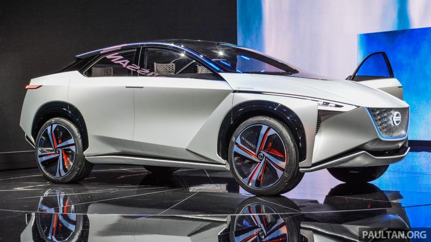 Tokyo 2017: Nissan IMx Concept with 600 km EV range Image #727924