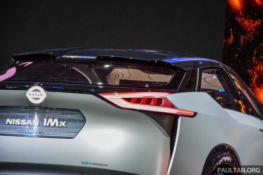 Tokyo 2017: Nissan IMx Concept with 600 km EV range Image #727940