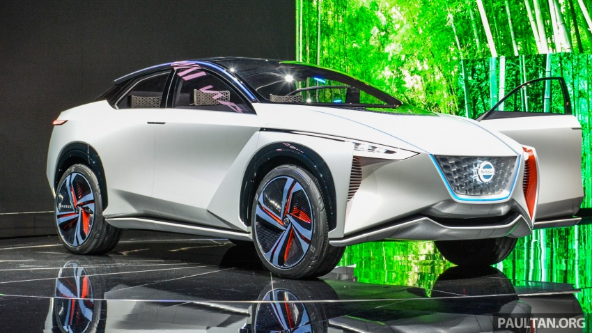 Tokyo 2017: Nissan IMx Concept with 600 km EV range Image #727925