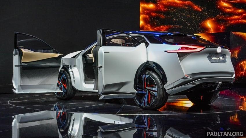 Tokyo 2017: Nissan IMx Concept with 600 km EV range Image #727928