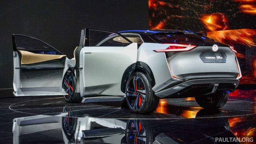 Tokyo 2017: Nissan IMx Concept with 600 km EV range Image #727929