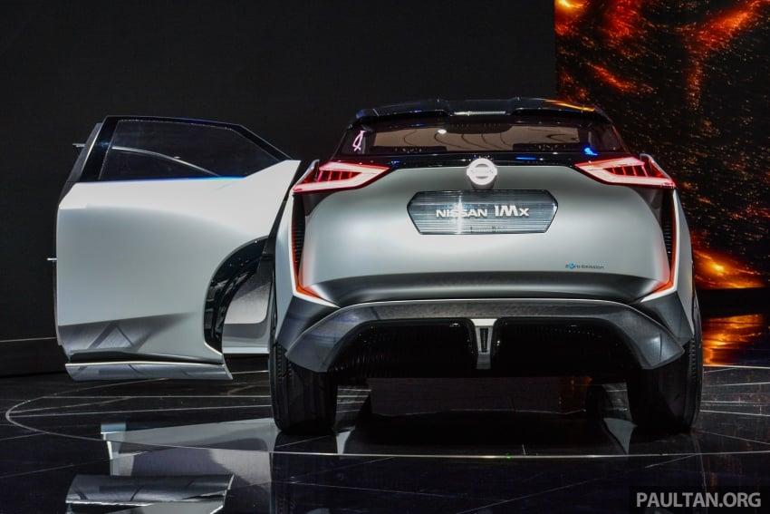Tokyo 2017: Nissan IMx Concept with 600 km EV range Image #727930
