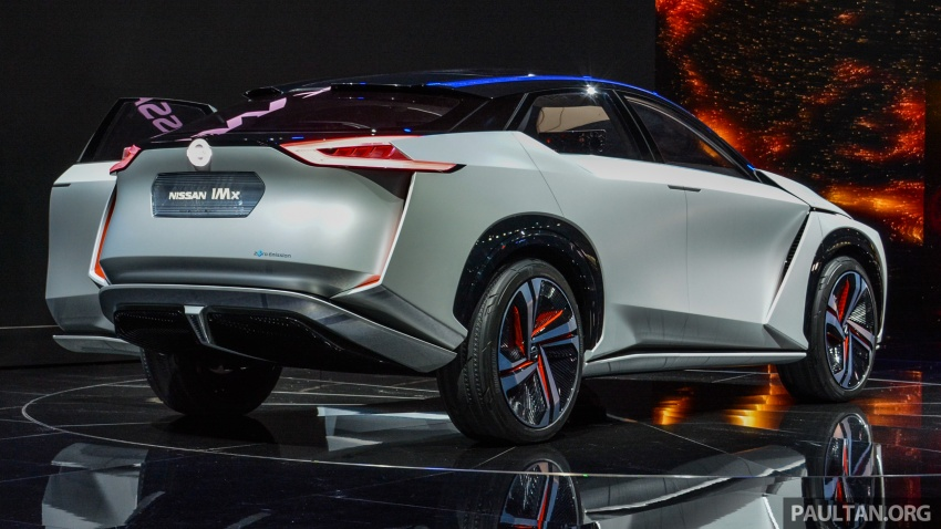 Tokyo 2017: Nissan IMx Concept with 600 km EV range Image #727931