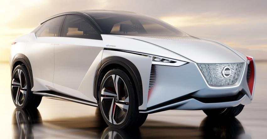 Tokyo 2017: Nissan IMx Concept with 600 km EV range Image #727716
