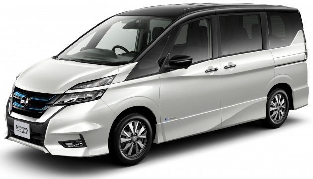 nissan serena e power ev mpv with range extender. Black Bedroom Furniture Sets. Home Design Ideas