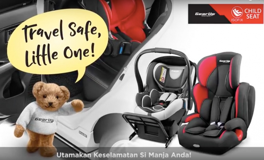 Perodua launches five-year road safety campaign, introduces Gear Up child seats from just RM660 Image #730250
