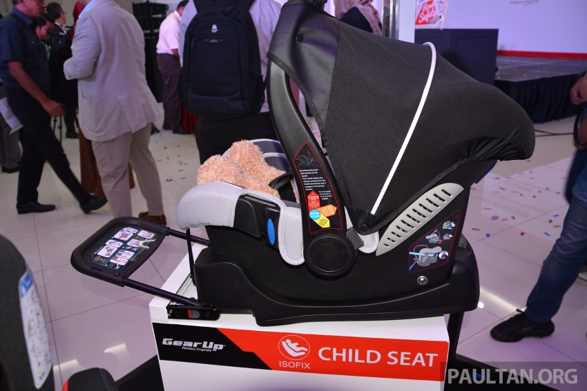 Perodua launches five-year road safety campaign, introduces Gear Up child seats from just RM660 Image #730073