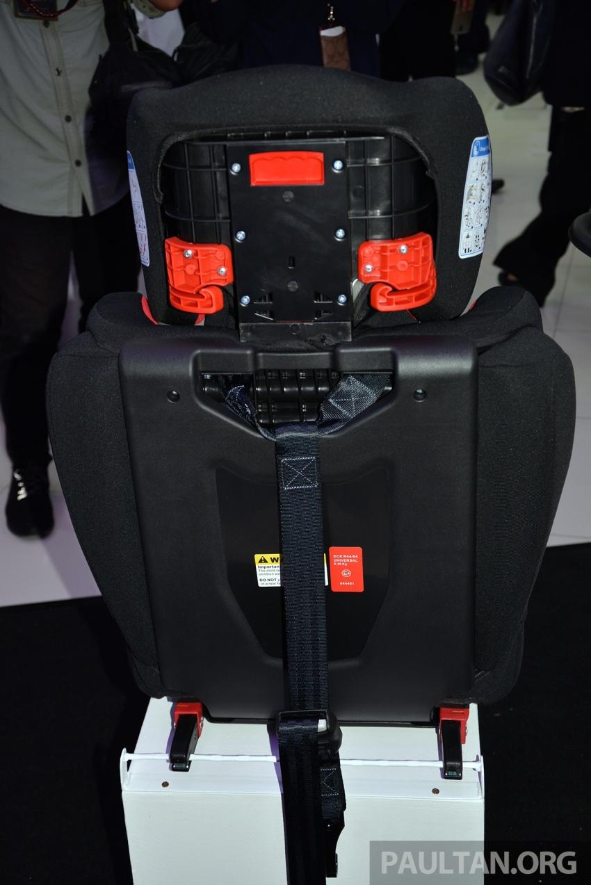 Perodua lancar kempen keselamatan lima tahun, perkenalkan kerusi kanak-kanak GearUp dari RM660 Image #730329