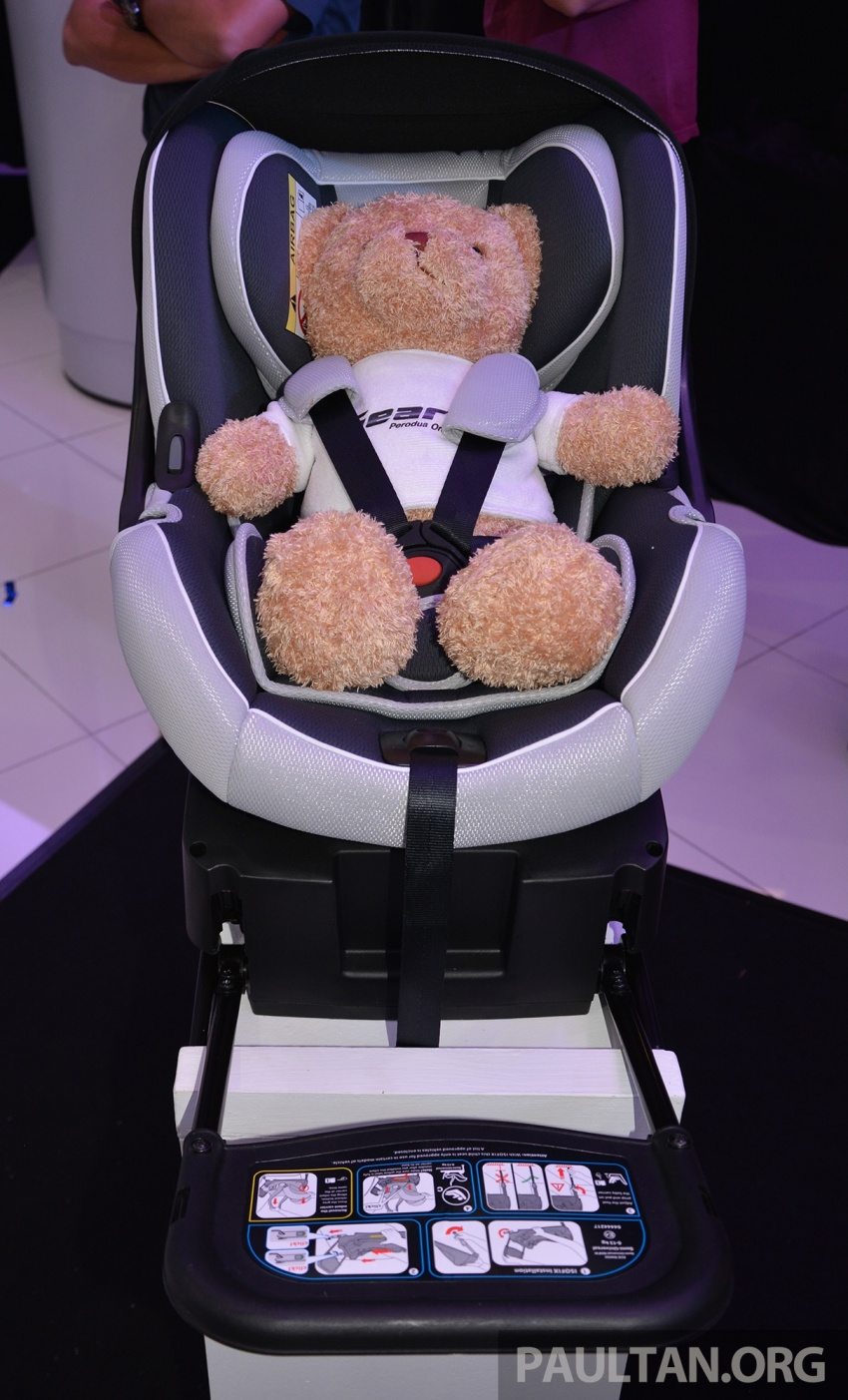 Perodua launches five-year road safety campaign, introduces Gear Up child seats from just RM660 Image #730084