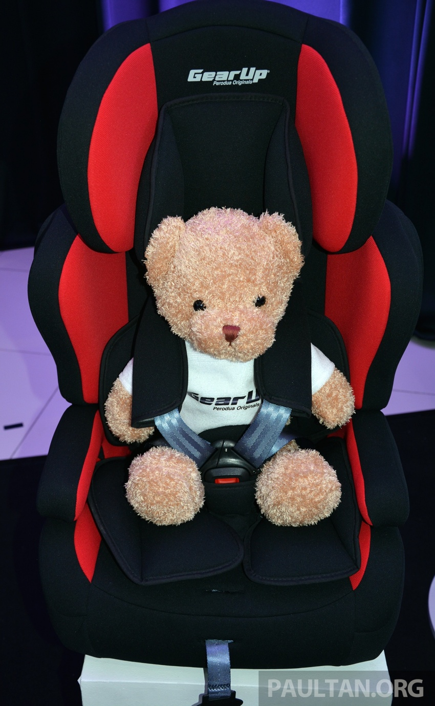 Perodua lancar kempen keselamatan lima tahun, perkenalkan kerusi kanak-kanak GearUp dari RM660 Image #730331