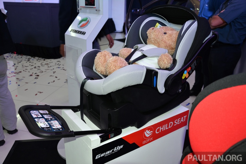 Perodua launches five-year road safety campaign, introduces Gear Up child seats from just RM660 Image #730086