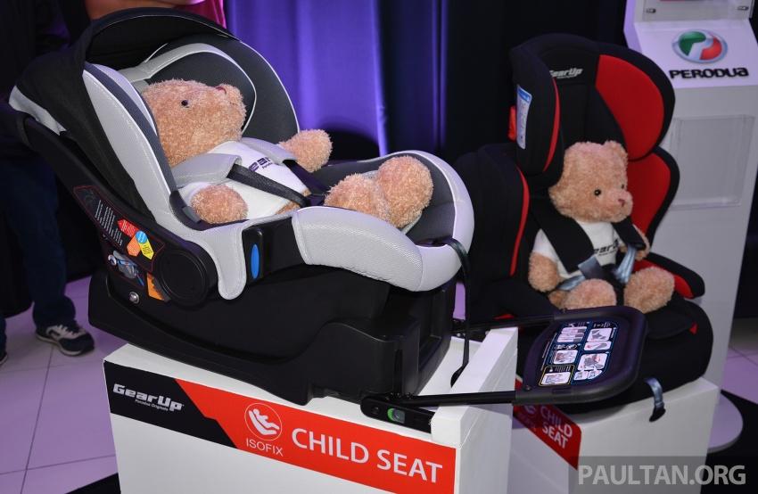 Perodua lancar kempen keselamatan lima tahun, perkenalkan kerusi kanak-kanak GearUp dari RM660 Image #730334