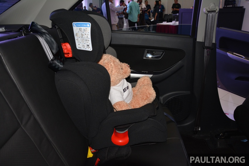 Perodua launches five-year road safety campaign, introduces Gear Up child seats from just RM660 Image #730088