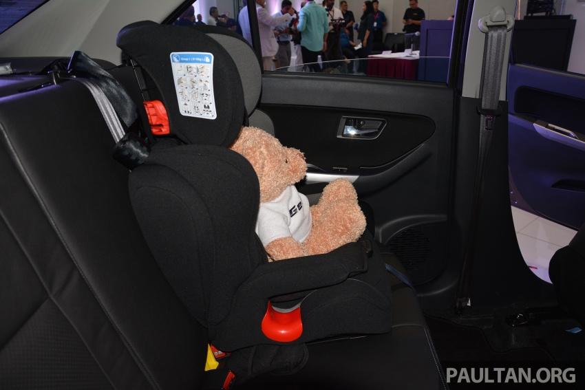 Perodua lancar kempen keselamatan lima tahun, perkenalkan kerusi kanak-kanak GearUp dari RM660 Image #730335