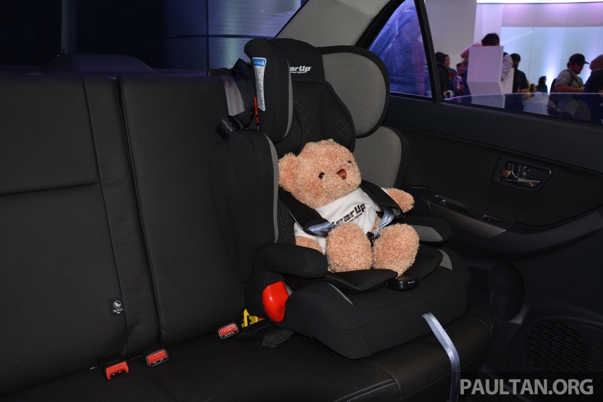 Perodua launches five-year road safety campaign, introduces Gear Up child seats from just RM660 Image #730090