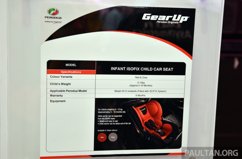 Perodua launches five-year road safety campaign, introduces Gear Up child seats from just RM660 Image #730075