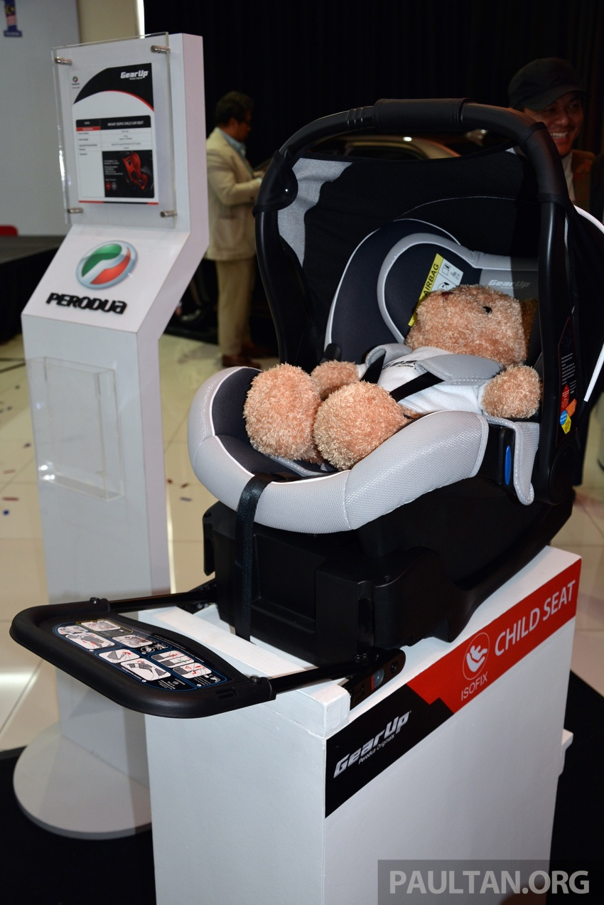 Perodua launches five-year road safety campaign, introduces Gear Up child seats from just RM660 Image #730077