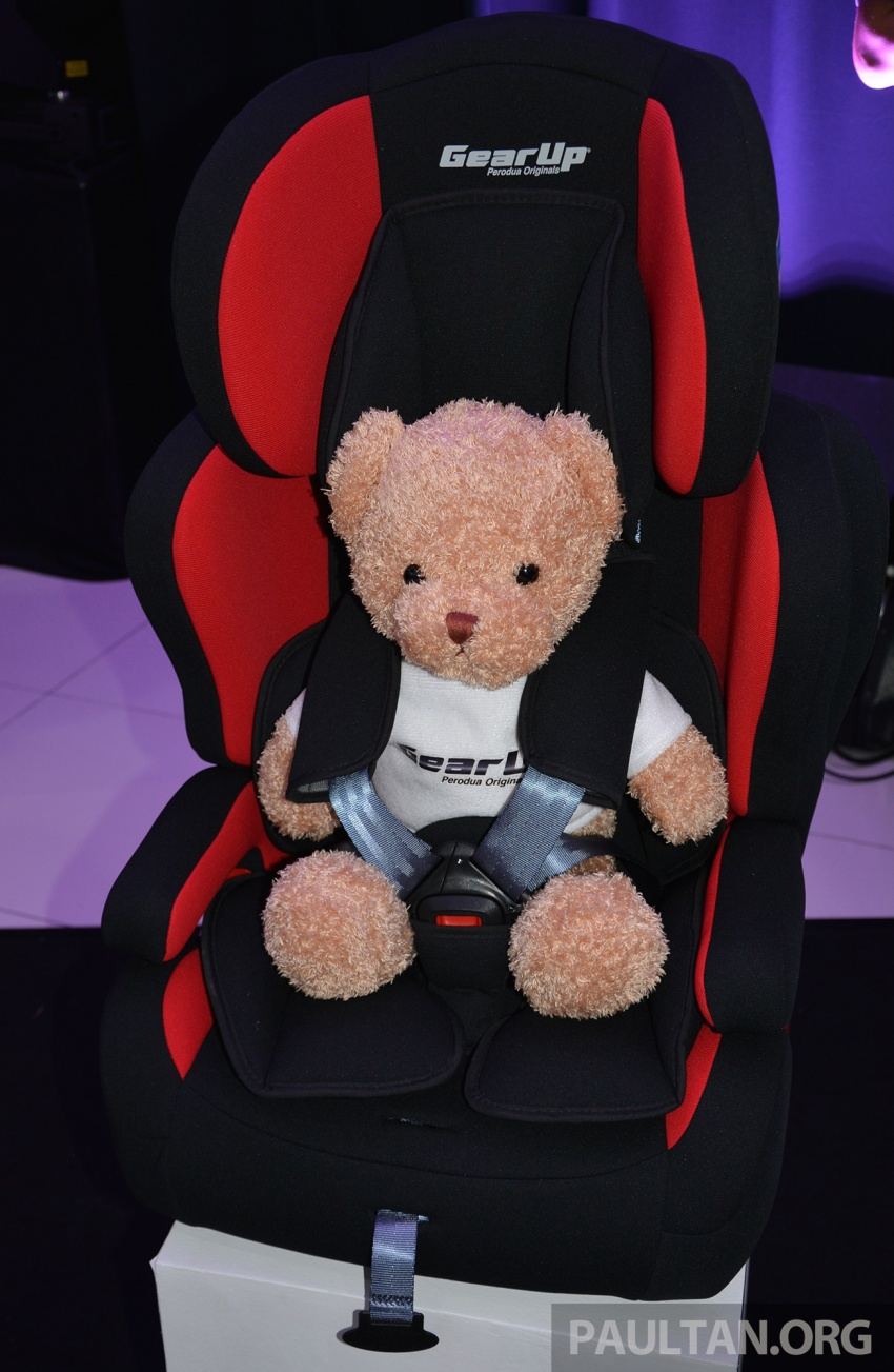Perodua launches five-year road safety campaign, introduces Gear Up child seats from just RM660 Image #730078