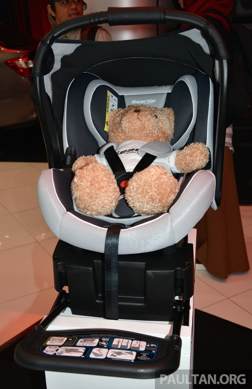 Perodua launches five-year road safety campaign, introduces Gear Up child seats from just RM660 Image #730079