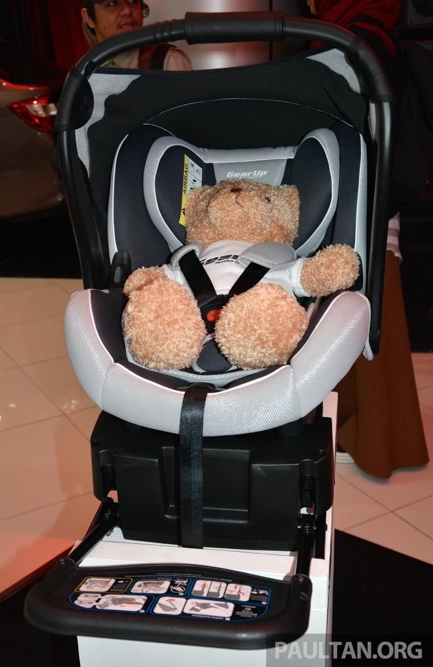 Perodua lancar kempen keselamatan lima tahun, perkenalkan kerusi kanak-kanak GearUp dari RM660 Image #730325
