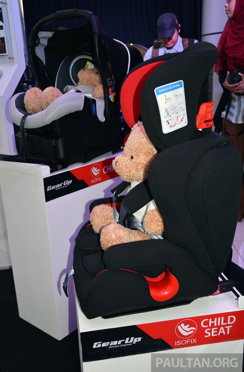 Perodua launches five-year road safety campaign, introduces Gear Up child seats from just RM660 Image #730080