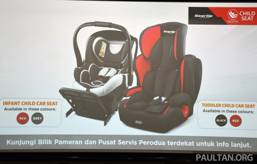Perodua launches five-year road safety campaign, introduces Gear Up child seats from just RM660 Image #730081